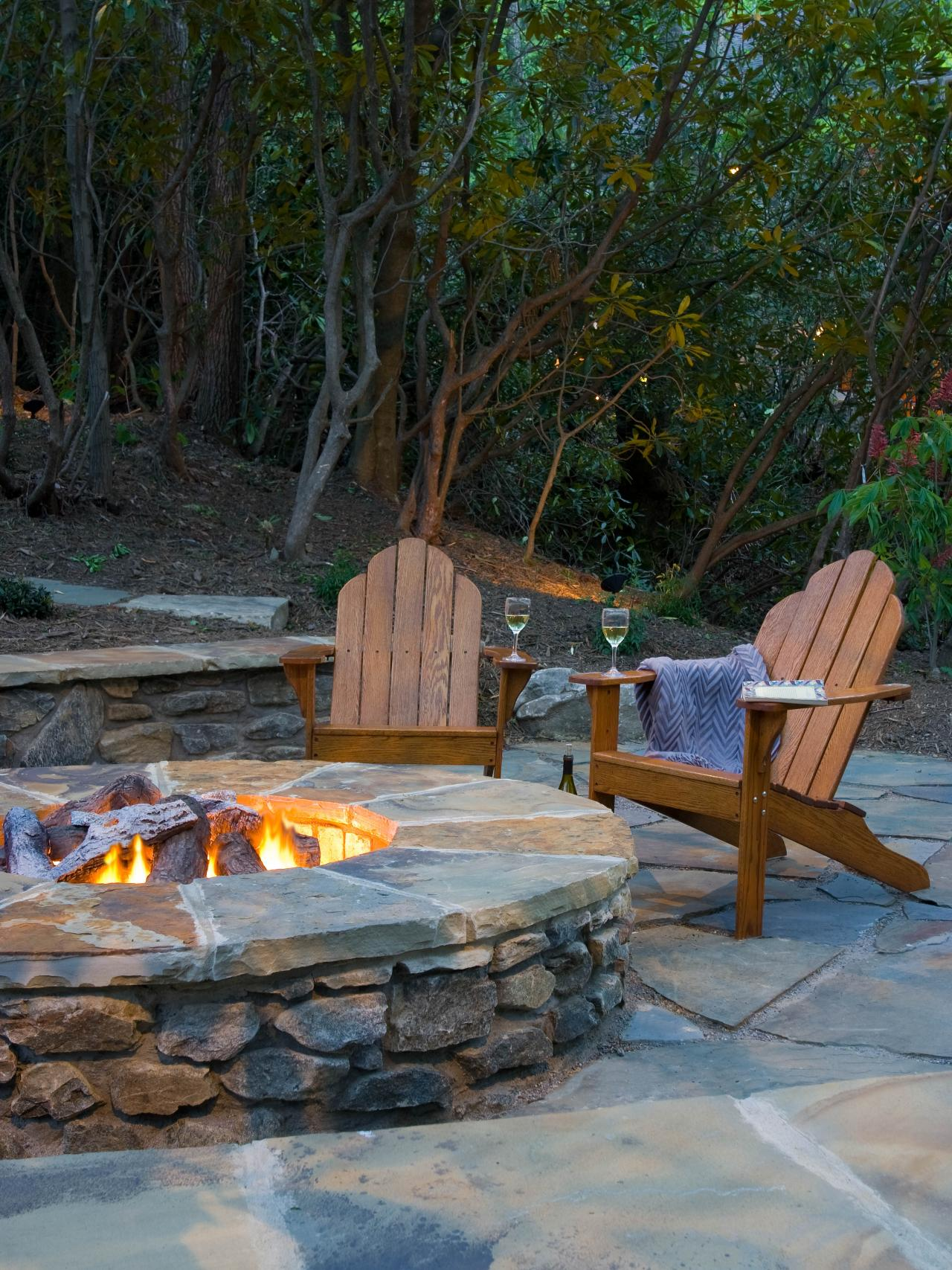contemporary outdoors fire pit ideas reclaimed outdoor wooden arm